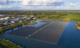 Największa pływającą elektrownia PV w Europie powstaje w Holandii