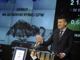 Grodno zadebiutowało na rynku głównym GPW