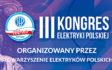 III Kongres Elektryki Polskiej odbędzie się 2-3 kwietnia