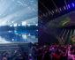 Eurowizja z oświetleniem firmy Osram