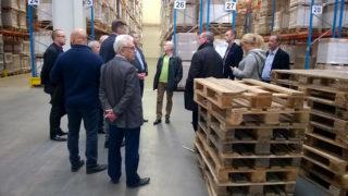Członkowie PIGE odwiedzili bydgoskie przedsiębiorstwa