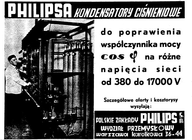 Reklama z 1932 roku
