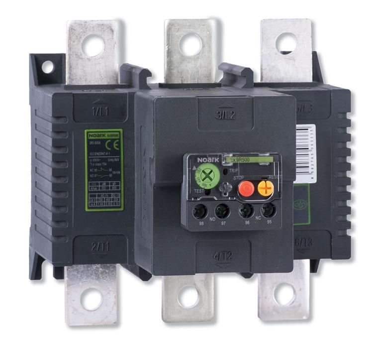 Rys. 6. Przekaźnik termiczny dla styczników mocy Ex9C do 500 A