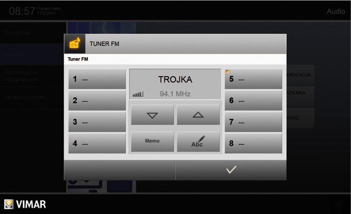 System oferuje także funkcje multimedialne