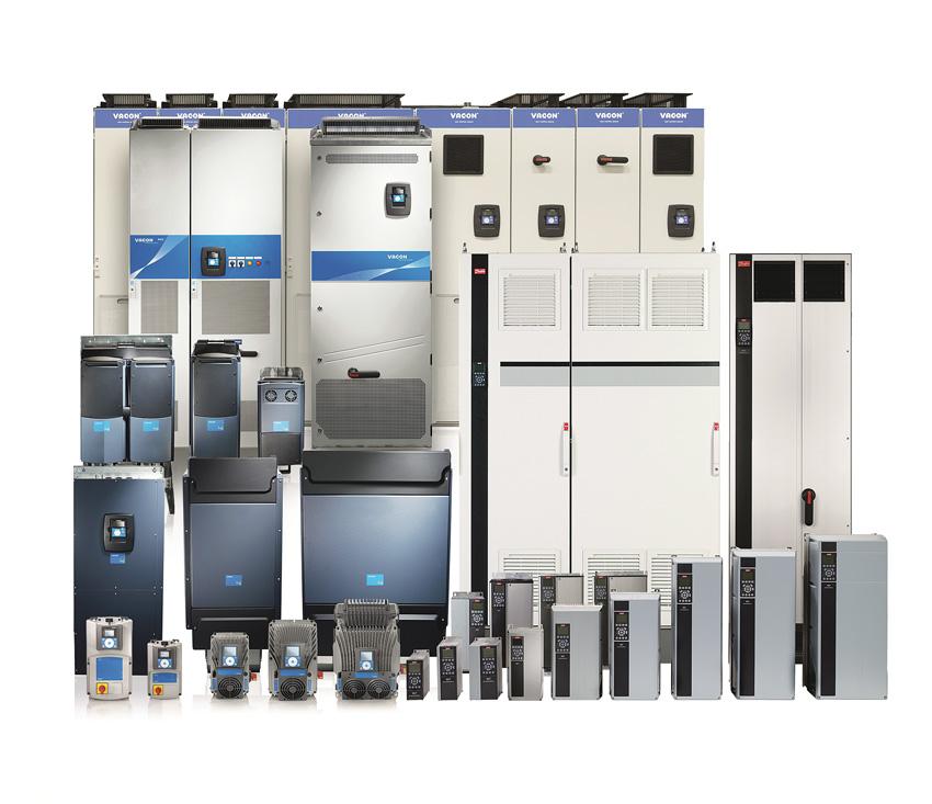 Rys. 1. Przetwornice częstotliwości firmy Danfoss oferują duże możliwości zmniejszania kosztów eksploatacji silników