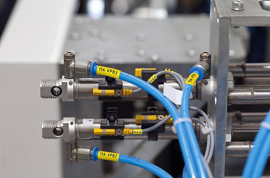 W ofercie Partex znajdują się także wyroby przeznaczone do znakowania przewodów oraz siłowników pneumatycznych