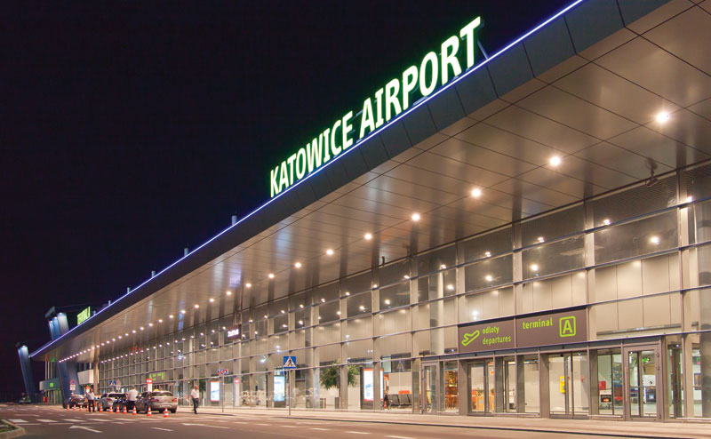 Terminal lotniska w Pyrzowicach – jedno z miejsc instalacji rozwiązań ZPUE