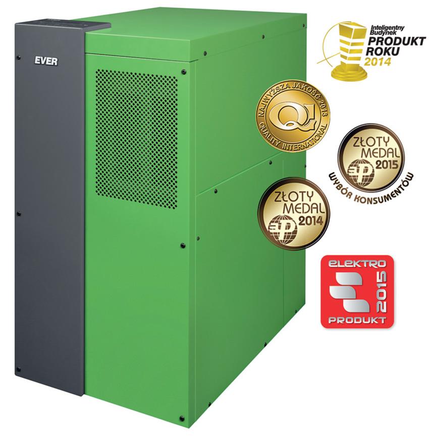 Rys. 2. UPS Ever Powerline Green 33 Lite z kompensacją mocy biernej