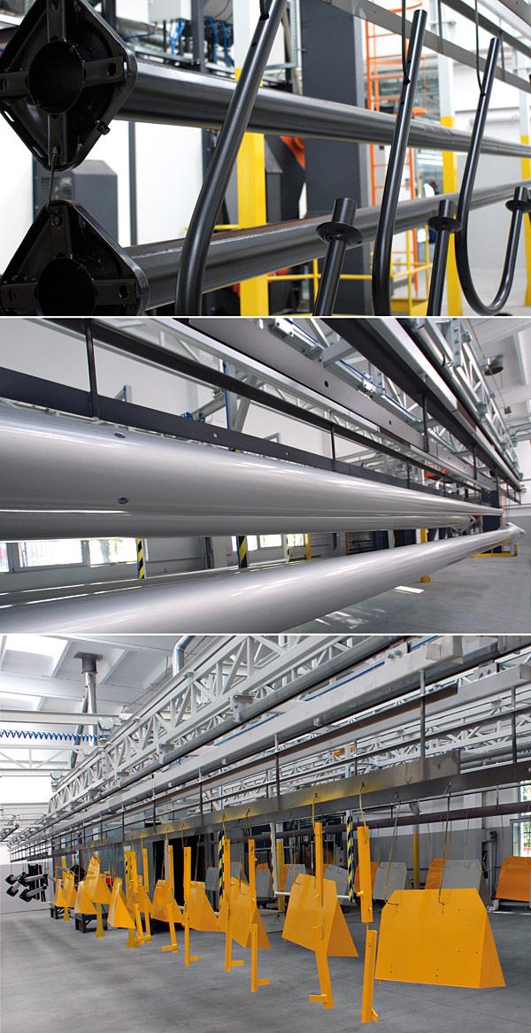 Elektromontaż Rzeszów dysponuje pełną kolorystyką z palety RAL oraz szeroką gamą faktur i struktur o różnych stopniach połysku