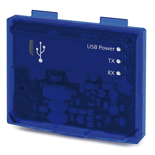Do połączenia przemiennika z komputerem wystarczy moduł oraz zwykły przewód USB