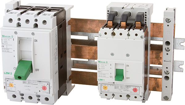 Wyłączniki kompaktowe LZM firmy Eaton Moeller dedykowane do zastosowań w budownictwie