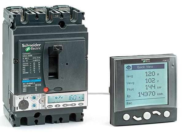 Wyłącznik z serii Compact NSX (100-630 A) firmy Schneider Electric