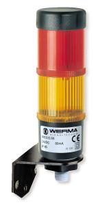 Kolumna sygnalizacyjna LED Kompakt 36 wraz z uchwytem ściennym (Werma / TME)