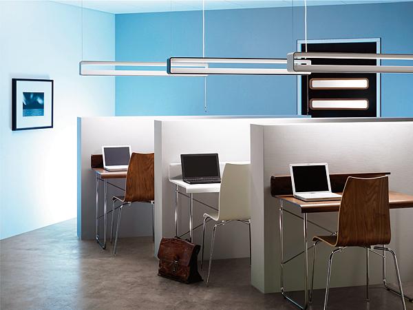 OPEN BOX – połączenie oświetlenia pośredniego z bezpośrednim jako sposób na zdrowe oświetlenie w biurze