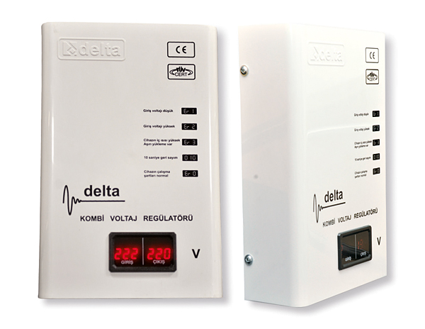 Rys. 4. Stabilizator napięcia 230 V AC / 1 kVA – MCU-8-1