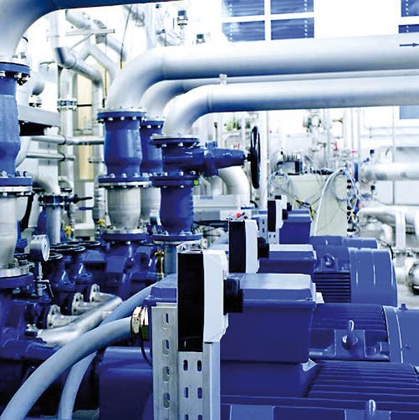 Interfejs Ethernet umożliwia transmisję informacji diagnostycznych, na przykład danych pomiarowych gromadzonych w trakcie eksploatacji pomp, dotyczącychich wydajności i stanu pracy