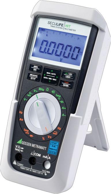 Rys. 5. Multimetr z serii S z obudową bakteriobójczą – do zastosowań w warunkach wysokich standardów higienicznych