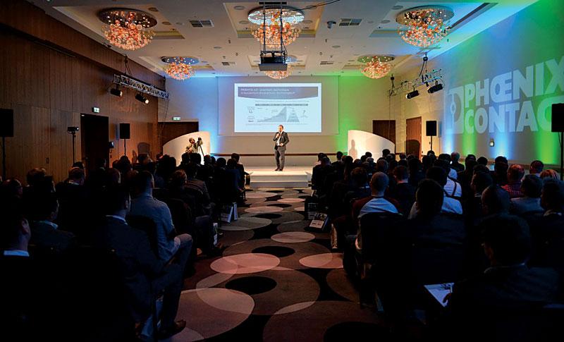 Jedna z prezentacji konferencji Industry 4.0
