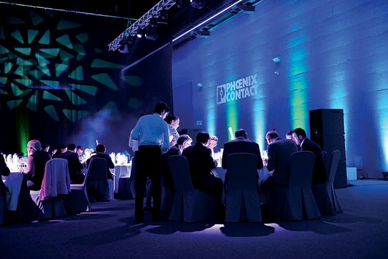 Bankiet kończący konferencję Industry 4.0