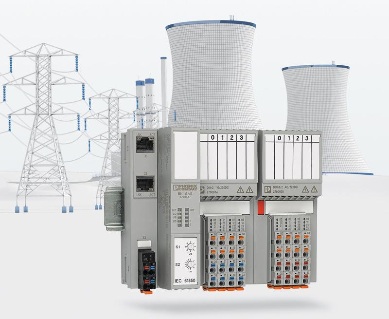 Rys. 2. System Axioline F I/O bardzo dobrze nadaje się dla technologii energetycznych