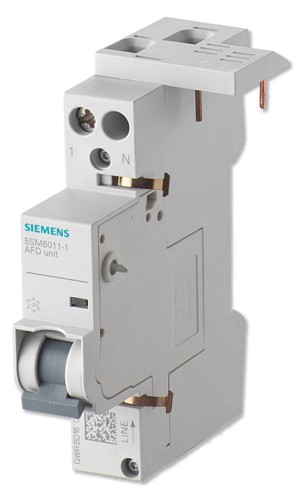 Rys. 1. Przeciwpożarowy detektor iskrzenia 5SM6 firmy Siemens