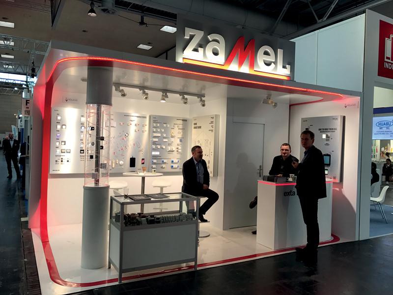 Stoisko firmy Zamel