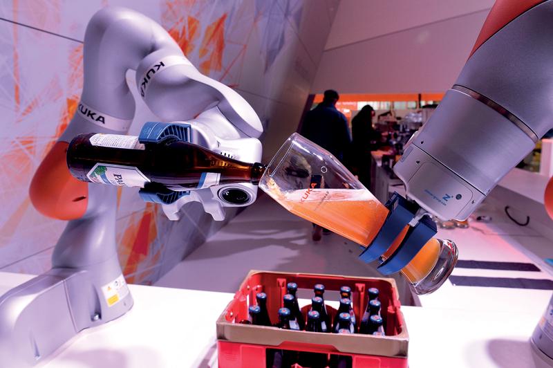 Interesujące zastosowanie robota marki Kuka