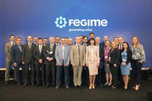 Uczestnicy Kongresu z Grupy FEGIME Polska