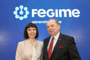 Marta Kulza, prezes FEGIME Polska i przewodniczący rady Nadzorczej FEGIME Polska Marian Nowak