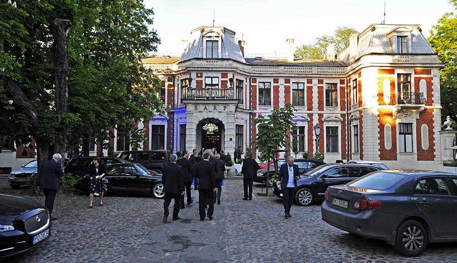 Galowa kolacja odbyła się w restauracji Endorfina w Pałacu Zamoyskich