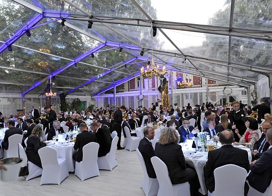 Główna część imprezy miała miejsce w pomieszczeniach Oranżerii