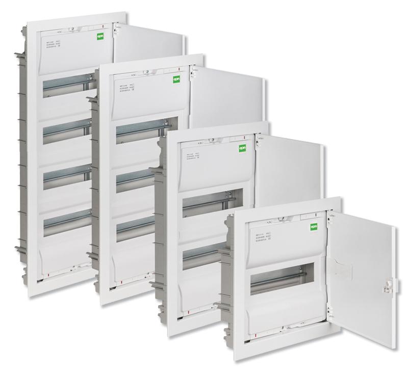 Obudowy MSF opracowano tak, aby maksymalnie uprościć ich instalację i użytkowanie, a jednocześnie umożliwić szybkie przeprowadzenie modernizacji instalacji elektrycznej oraz systemów multimedialnych w budynku