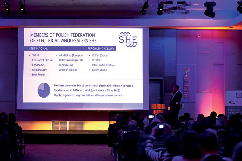 Informacje o Polsce i rynku elektrycznym w Polsce i Europie przekazał zgromadzonym Tomasz Boruc, dyrektor zarządzający SHE ZPDE