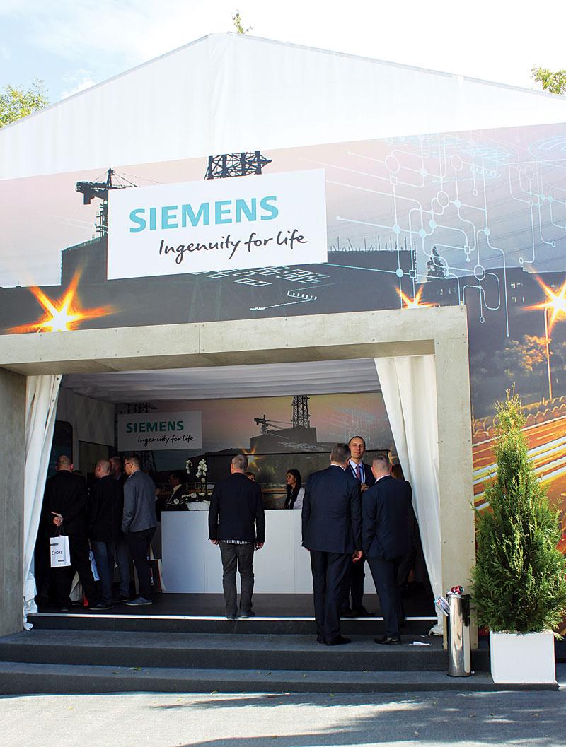 Pawilon firmy Siemens