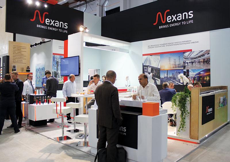 Ekspozycja firmy Nexans