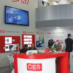 Stoisko firmy CES