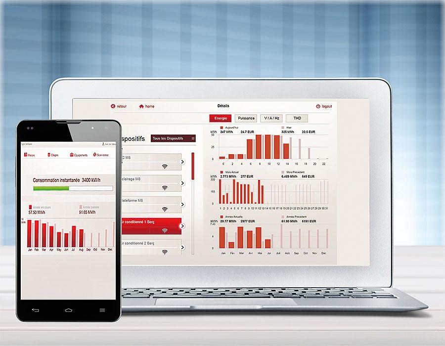 EMS CX3 to narzędzie pomiarowe oraz służące do zarządzania instalacją – lokalnie i zdalnie
