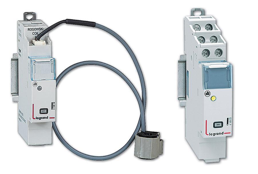 Moduły pomiarowe – moduł jednofazowy do 63 A z cewką Rogowskiego oraz moduł jedno- lub trójfazowy dla przekładników prądowych