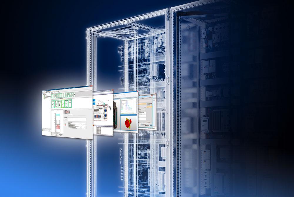 Przewodnik w zamianie na VX25 dla list części, darmowe dane oraz inteligentne narzędzie do selekcji i konfiguracji ułatwią producentom przejście z systemu szaf sterowniczych TS 8 na nowy system szaf pełnogabarytowych VX25