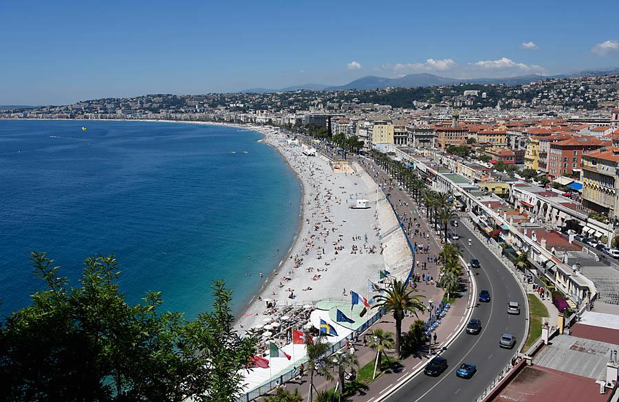 W trakcie Vintage Photo Rally można było poznać wiele interesujących miejsc Nicei
