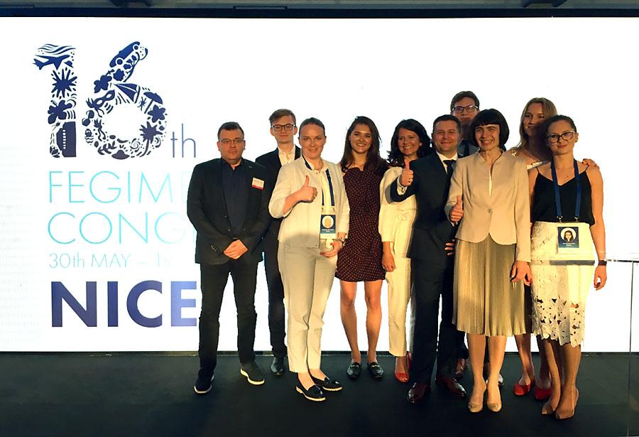 Grupa polskich uczestników Kongresu