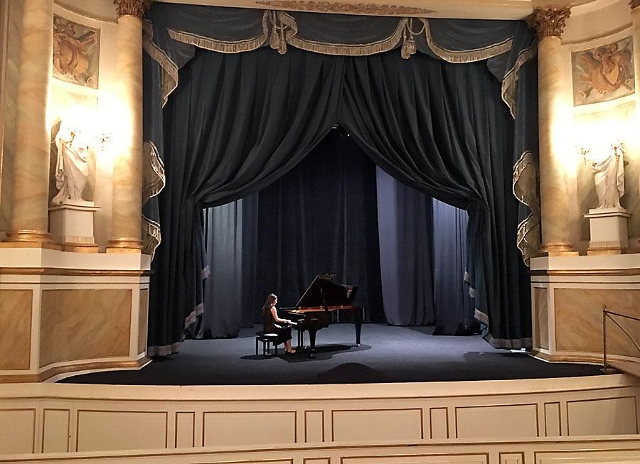 Koncert fortepianowy w Teatrze Królewskim