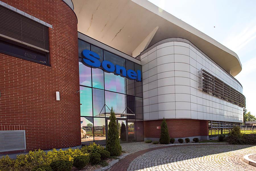 Obecna siedziba Sonela mieści się na terenie Wałbrzyskiej Specjalnej Strefy Ekonomicznej