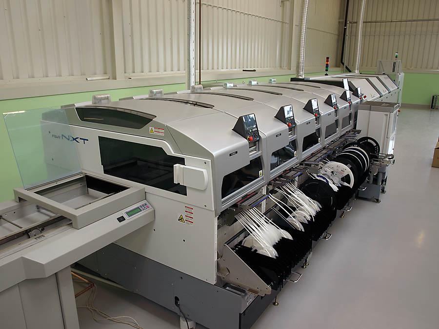 Proces produkcji w firmie Sonel charakteryzuje się wysokim stopniem automatyzacji