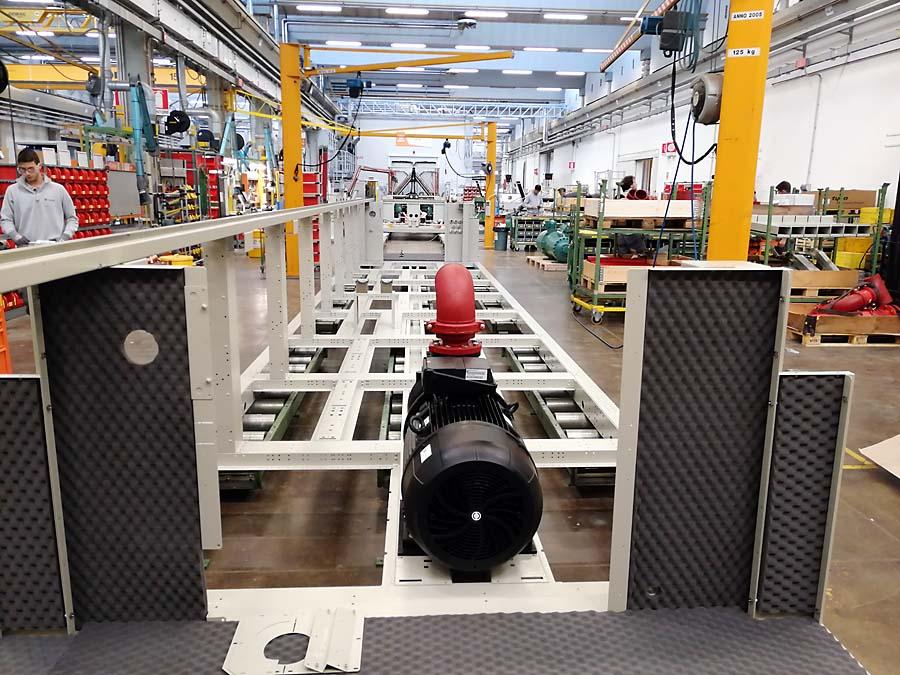Centrum w Tognanie działa od ponad 20 lat i składa się z sześciu laboratoriów