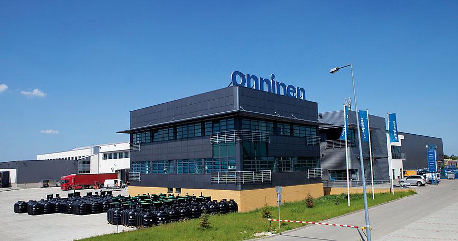 Centrum Dystrybucyjne Onninen w Teolinie