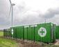 Baterie BMW na farmie wiatrowej