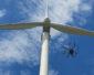 Autonomiczny dron monitorował turbiny wiatrowe PGE