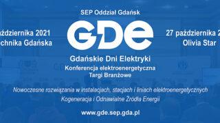 Gdańskie Dni Elektryki odbędą się w październiku