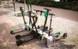 Stacje ładowania dla elektrycznych hulajnóg